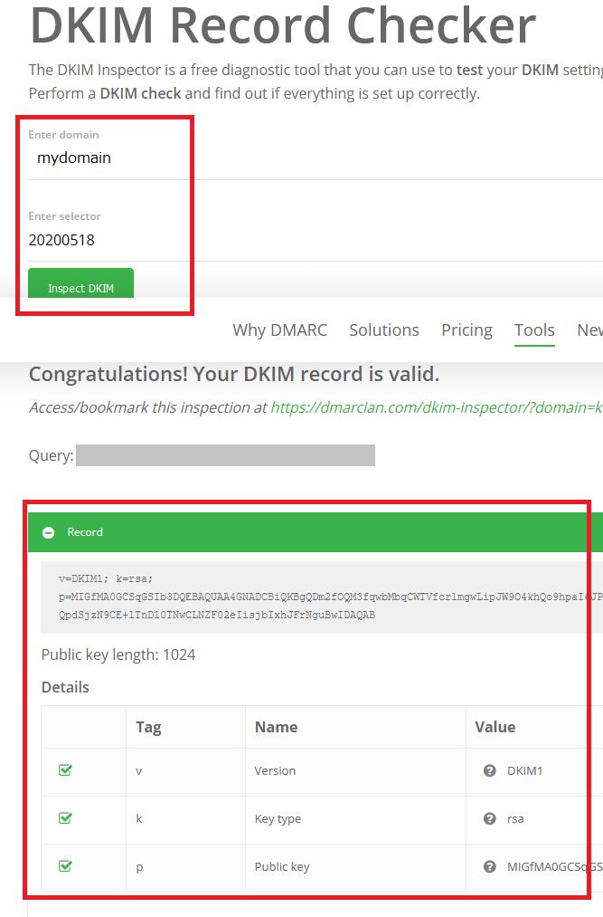 DKIM Record Checker